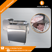 China factory supply frozen meat cutting machine / automatic frozen meat flaker 008613028676303