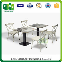 Rustic aluminum bistro set garden furniture outdoor -CAIRO