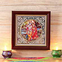 hot sale personalized poly resin beautiful indian god photos