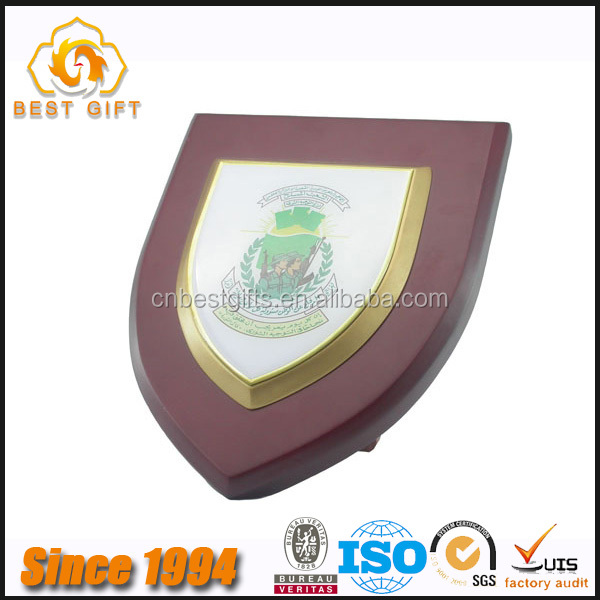 Top quality Commemorative school souvenir wooden plaque