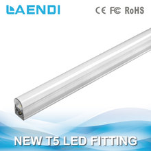 T5 led tube light 600mm daylight T5 Fixture 6500k CE Rohs 9w