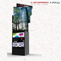 P6 video display advertising board Signage Triple level LED auto rotating tower