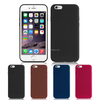 Shockproof flexible premium PU inner soft cotton fabric case leather whole wrapped bumper shell cover for iPhone 6s/ 6s plus