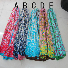 Wholesale high quality cheap white silk scarves for dying for women