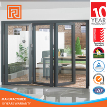 Residential aluminum double Glass entry doors