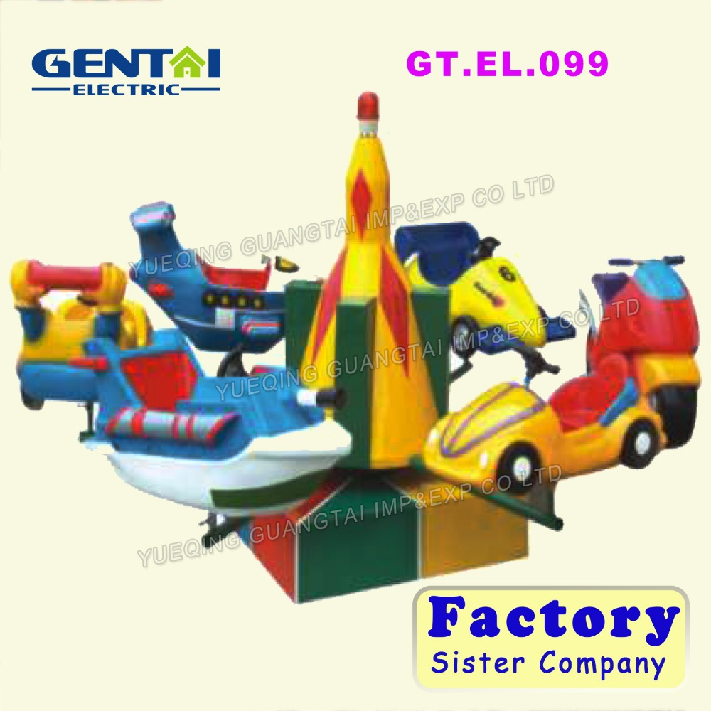 amusement park electric car amusement ride used game machine for adults