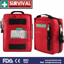 SES03 first aid kit design convenient breathing mask list in a first aid kit oem With Top Quality
