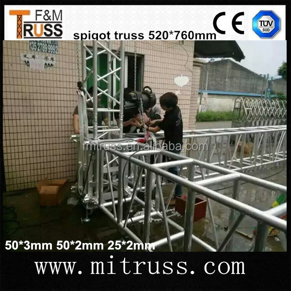 Aluminum Truss Trade Show Booth/ Aluminum Roof Spigot Truss