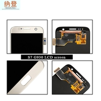 Oem Replacement Lcd Screen For Samsung S7 Best Quality,For Samsung S7 Lcd+Touch Screen Assembly Ship By Dhl Ups Ems