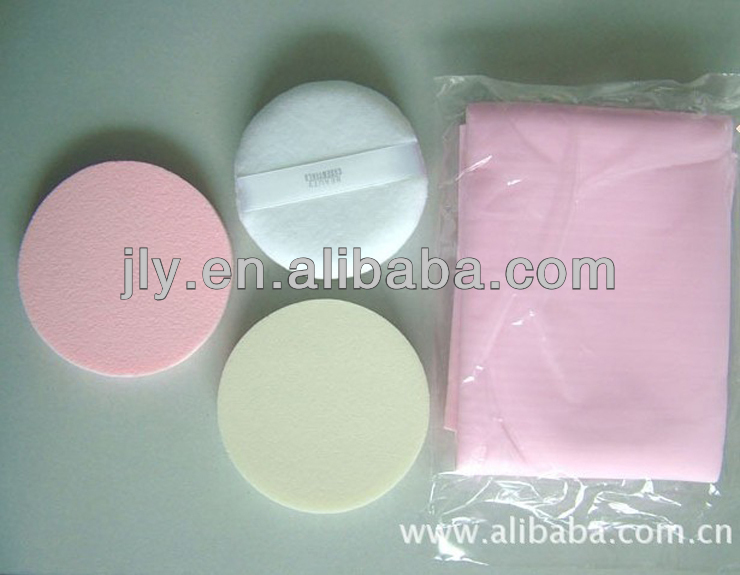Growing Facial Disposable Non-latex Foam Makeup Sponge Powder Puffs
