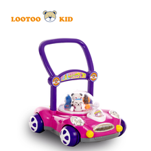Factory wholesale Best quality Musical baby walker car shape