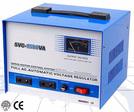 Voltage Stablizer 500VA 1000VA 1500VA 2000VA 3000VA 5000VA 8000VA 10000VA Single Phase SVC Automatic Voltage Regulator