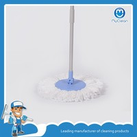 double bucket magic round roto spin mop