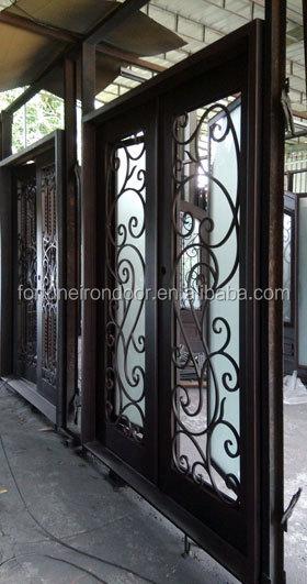 Iron entrance door iron main door designs iron grill Main entrance door grill