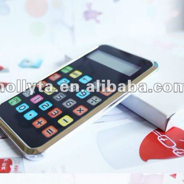 ON SALE HOLLYTA HC-327 Novelty Shaped Calculator with 8 Digits Touch Screen