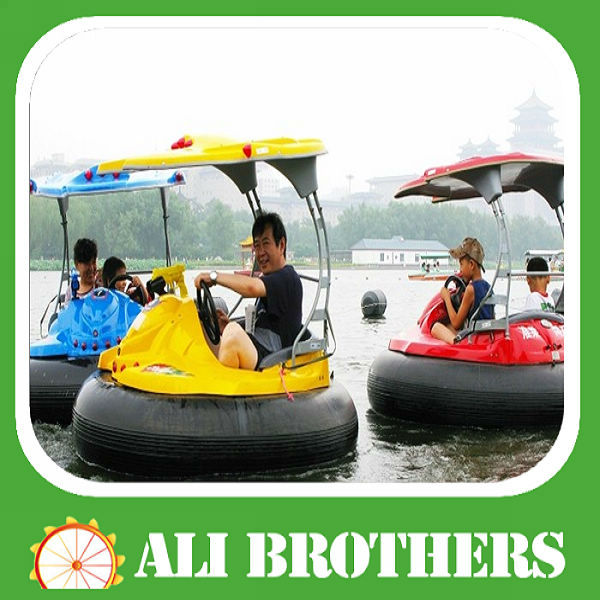 2013 hot Best selling! kids adults games electric bumper boat for adult