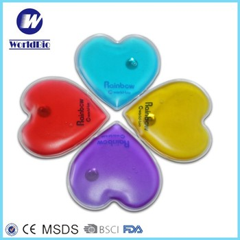 Heart Shape Customized Click Instant Heat Pack For Winter Warmer