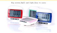 Outdoor SportS waterproof Big Screen Step Movement Calorie Counter Multi-Function 3D pocket Digital pedometer
