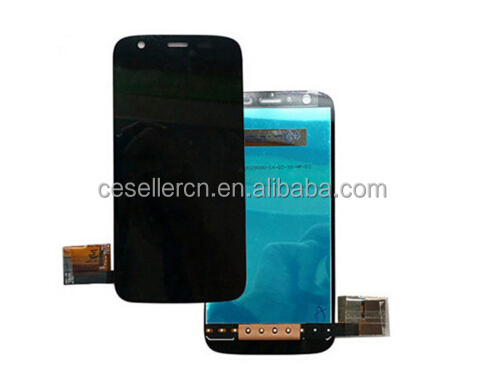 china original moto g lcd repair cracked oem moto g1 lcd display touch screen digitizer full assembly black