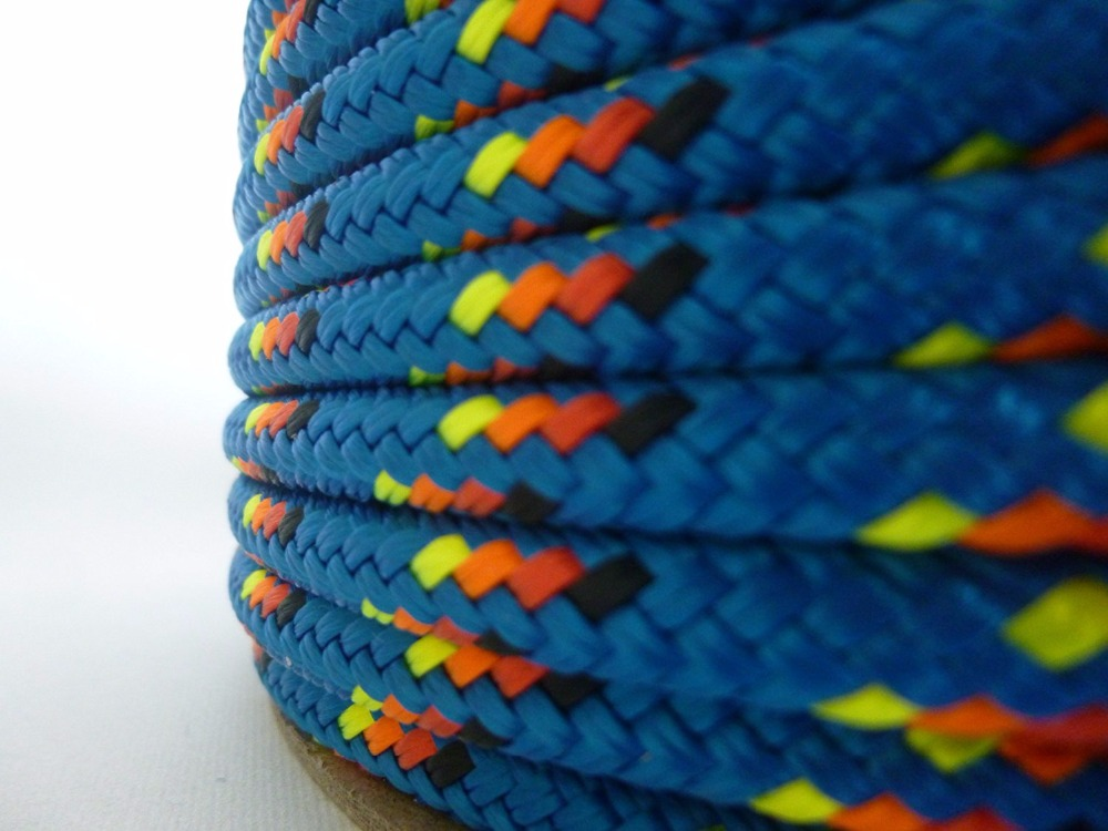 3 strand/double braided polyester rope wholesale