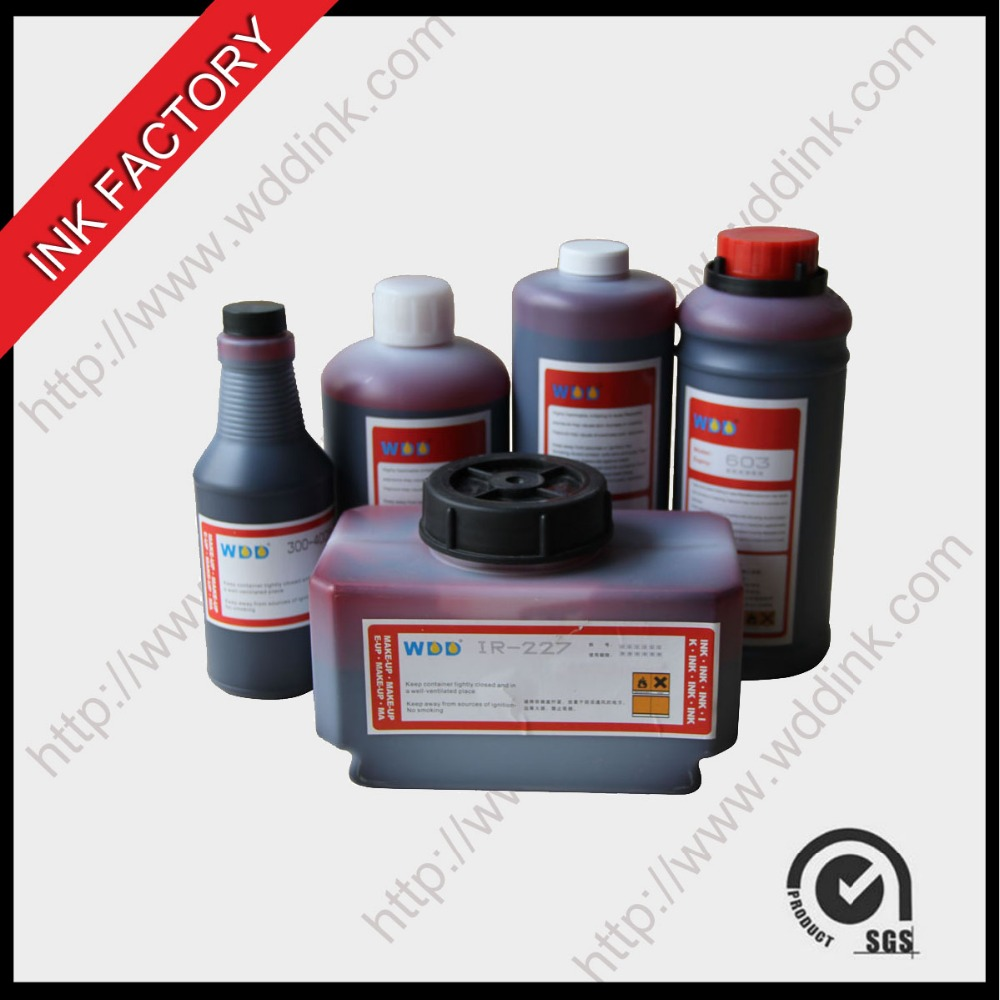 WDD red inks for small character printer CIJ consumables