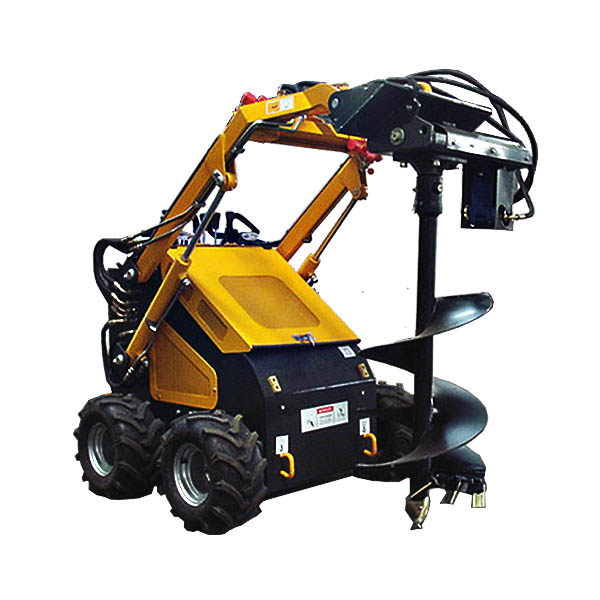 Small digging machine wheel type mini excavator price