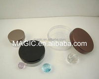 Sifter Jar,Loose Powder Jar With Brush ,Mineral Makeup Jars
