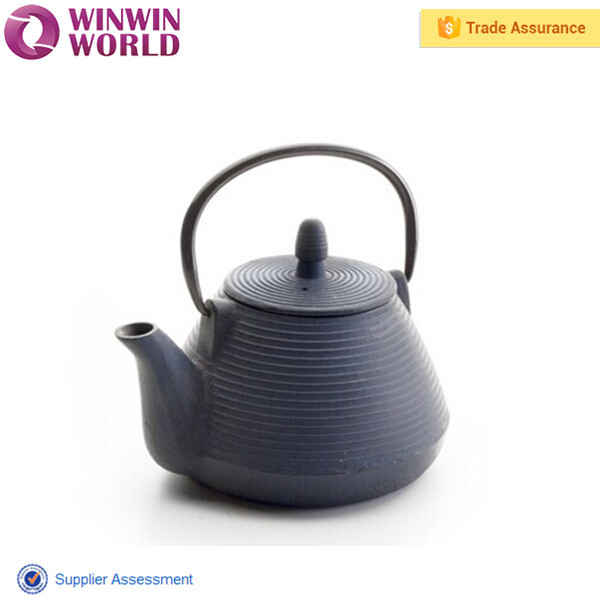 Hot Selling Antique Metal Teapot With Infuser