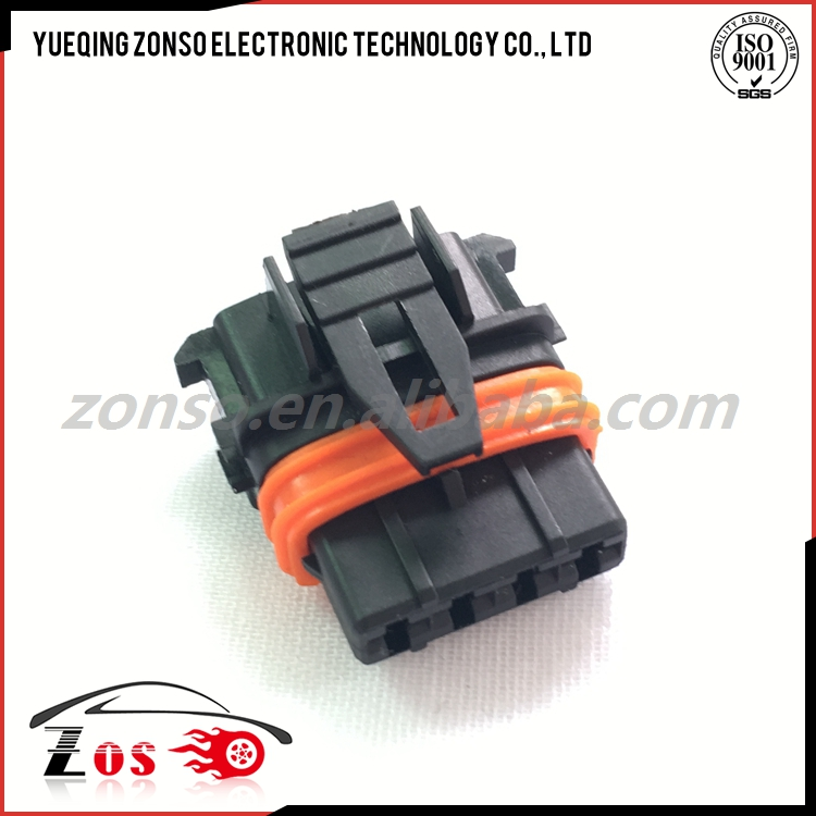 4 pins female sealed connector Volvo Connector