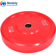 TPU material weight lifting plates with high quality