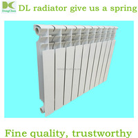 small hot water room heating bimetal radiator for sale 500mm / room heaters water aluminum radiator