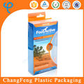 Custom Logo PP Insole Clear Plastic Packaging Box