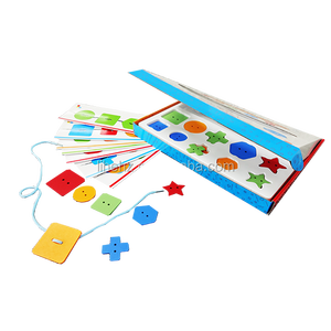 Hottest Educational board game The Magic String with ECO Friendly Paper Fancy games for babies