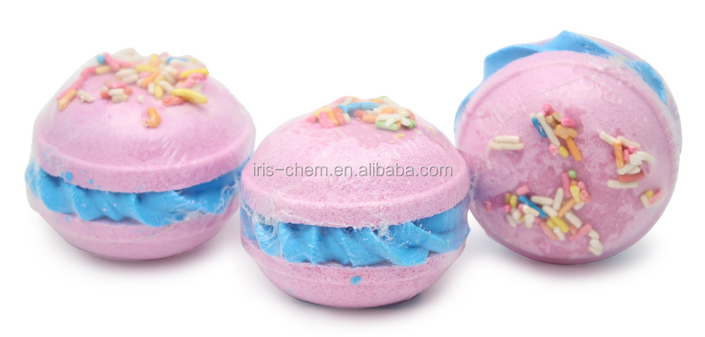 factory of bath bombs /six in box