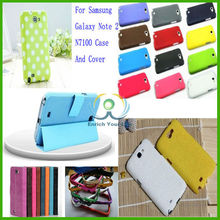 Hotselling wholesale Multi types colorfull PU TPU,PC,silicon leather Smart Case Hard cover for Samsung galaxy note 2 N7100