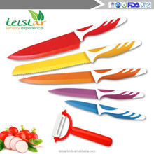 Stainless steel Non - Stick kitchen knife set