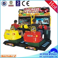 "42""LCD full-motion speed max arcade car racing video game"