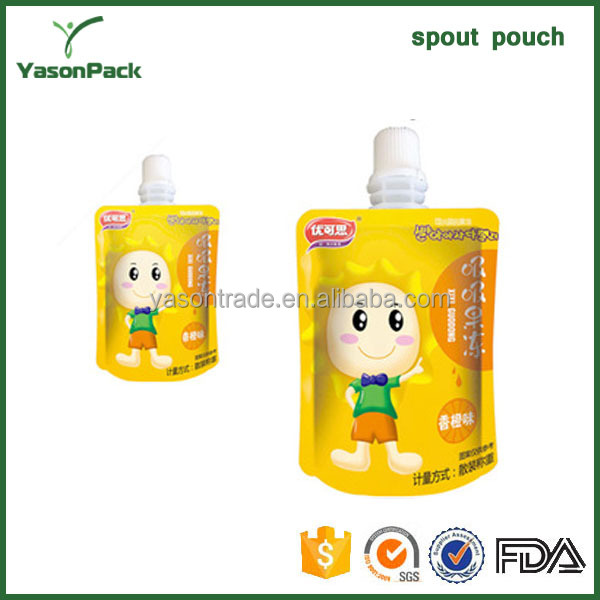 High Quality Spout Pouch For Beverage Packing
