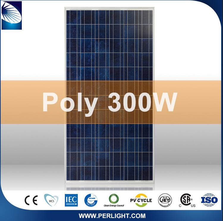 Hot Selling Ce Approved Popular Photovoltaic 24V 300W Solar Panel