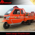gasoline engine tricycle with cabin for passengers
