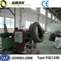 Yuntong Environmental Waste Motocycle Tire Rubbing Machine With CE