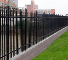 New Villa Zinc Steel Fence for Wall/ High Security Steel Tube Fence / Steel Grills Fence Design