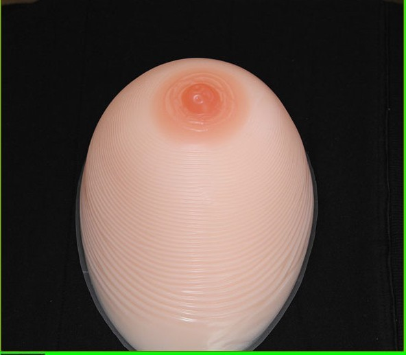 ONEFENG Silicone Artificial Breast Fake Boobs 1200g/pair for Shemale Crossdresser Transgender