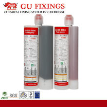 Long gelling time sheet metal adhesive adhesive for bar planting and anchoring stainless steel stud bolt and nut
