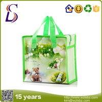 LS-LM004 laminated tote bag,pp nonwoven bag,laminated non-woven bag