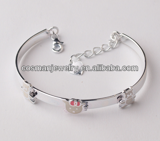 Fahion jewelry sterling silver bangle
