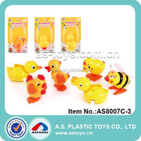 Eco-friendly material wind up plastic animal toys