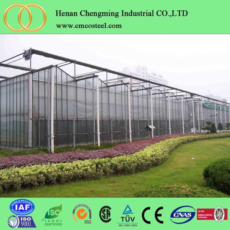 hot galvanized steel pipe used greenhouse