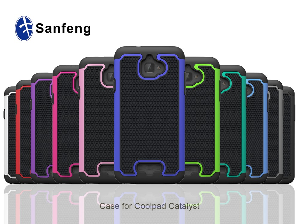 Silicone Shockproof Android Smartphone Accessories Cover Case for Coolpad Catalyst 3622A