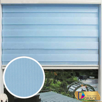 Double-shade roller blind/European zebra blinds/sheer elegance blinds